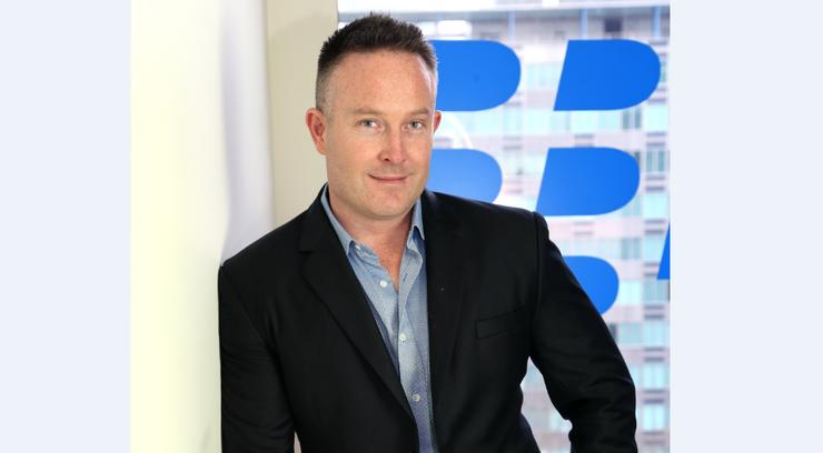 Blackberry Australian managing director, Matt Ball.