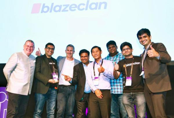 BlazeClan Technologies taking home the AWS Country Partner of the Year in Singapore