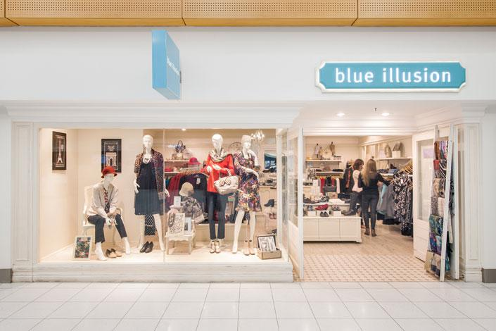 Blue Illusion store at Adelaide Airport (Photo credit: Adelaide Airport)