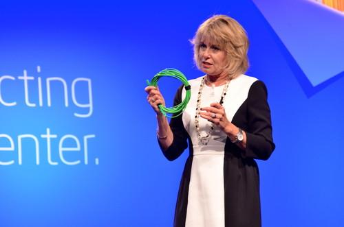 Intel's Diane Bryant at an event in San Francisco on April 9, 2013