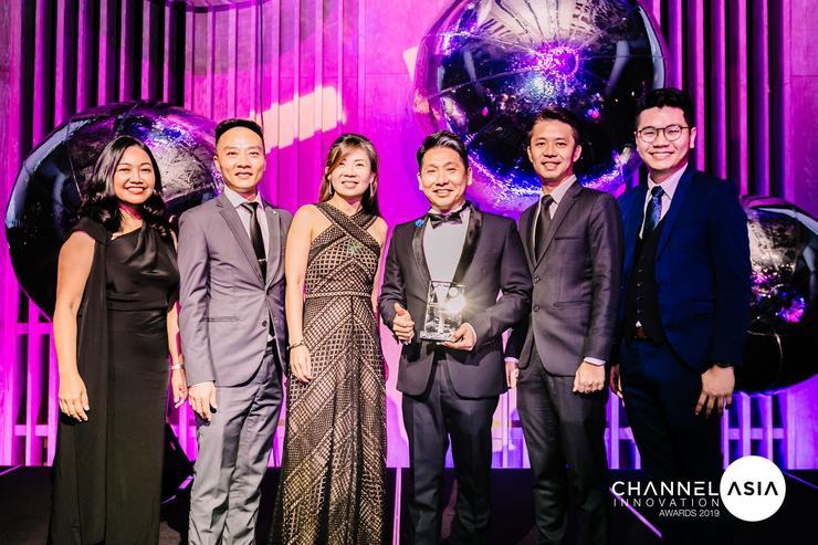 AsiaPac taking home the Digital Transformation honours during the inaugural Channel Asia Innovation Awards in Singapore