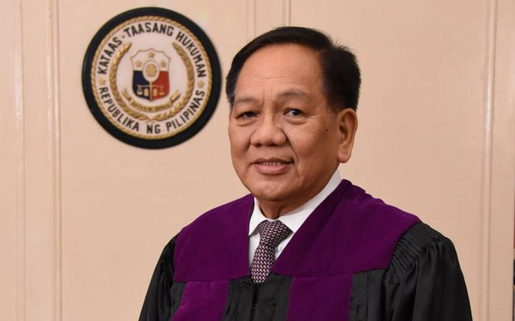 Honorable Chief Justice Diosdado M. Peralta.