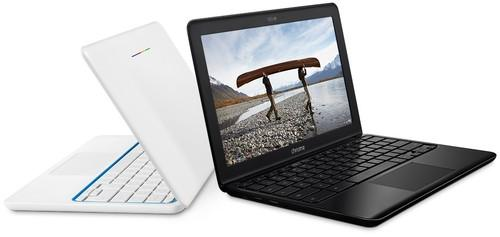 The new Chromebook 11 comes in black or white.