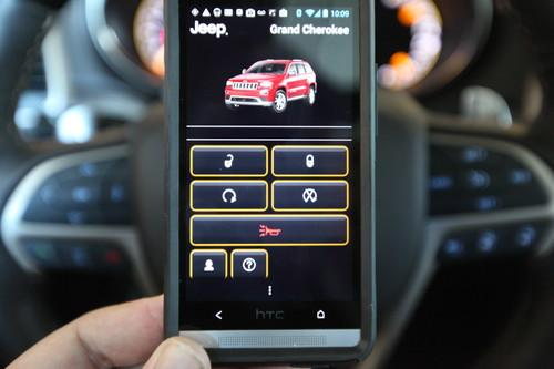 Chrysler's Uconnect remote-control app. Even if you don't want any other tech on your car, being able to control some basic car functions from your phone is the a big step up from today's key fob.