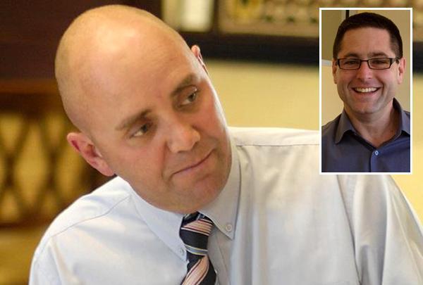 Avnet's Michael Costigan and EMC's Gil Shneorson (inset)