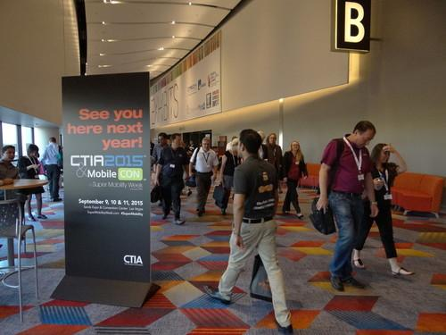 CTIA's Super Mobility Week trade show takes place this week in Las Vegas.