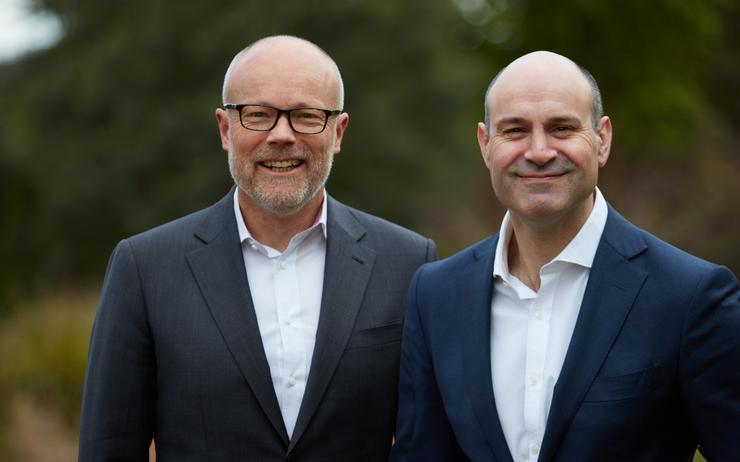 John Paitaridis and Alastair Macgibbon (CyberCX)