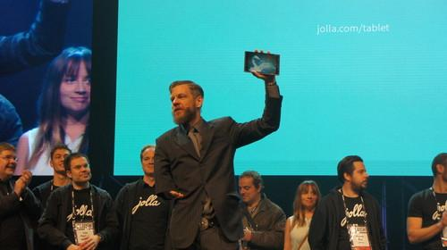 Jolla's Marc Dillon launches the company's tablet/