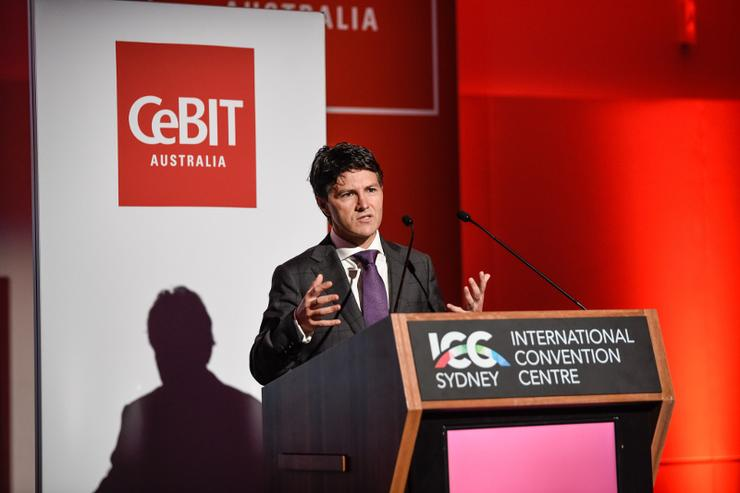 Finance minister Victor Dominello