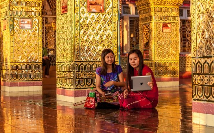 The new network will utilise submarine cables and land connections to meet the demand from Myanmar's rapid growth in online activity