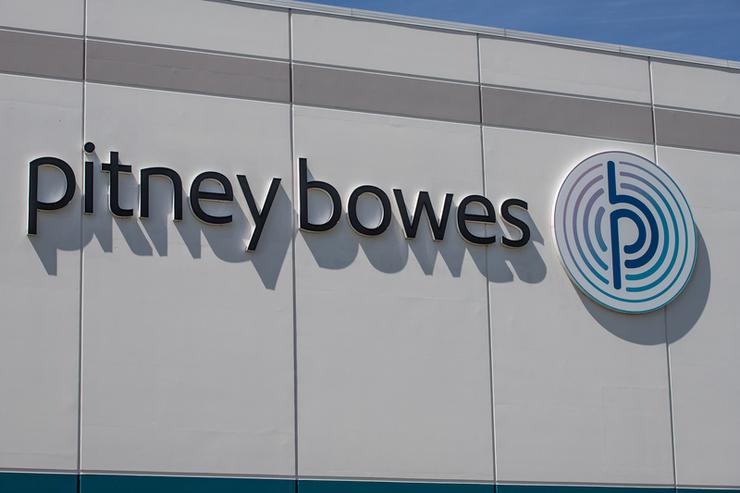 Pitney Bowes distribution centre in Whitestown, US