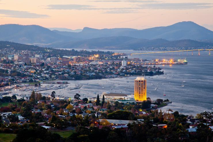 Tasmanian capital, Hobart