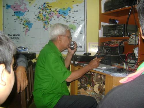 Ham operator Jayu Bhide