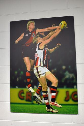 Can't resist an easy Bombers plug. Both Essendon and St Kilda use the stadium as a home ground