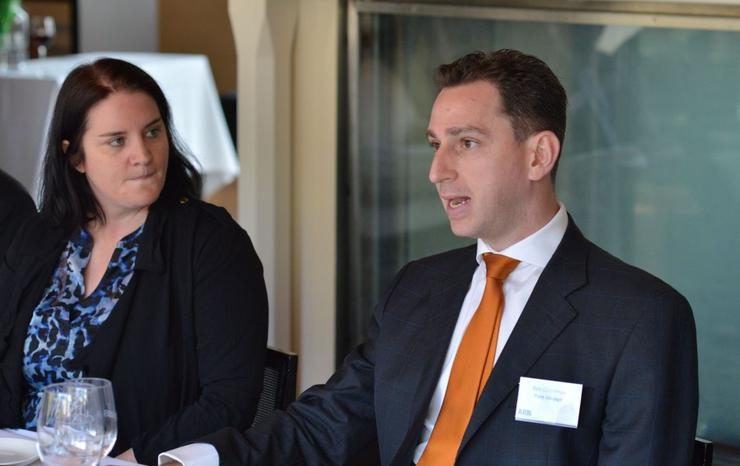 ARN associate editor, Jennifer O'Brien and Pure Storage director of channels APJ, Ben Goodman