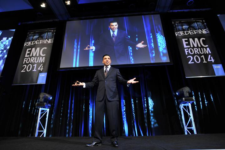 EMC vice president and managing director A/NZ, Alister Dias.