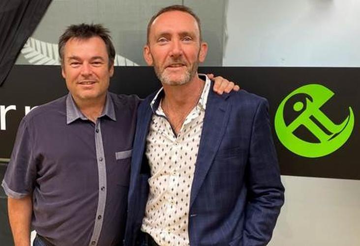 Tony Nicol (Servian) and Stuart Speers (Enterprise IT)