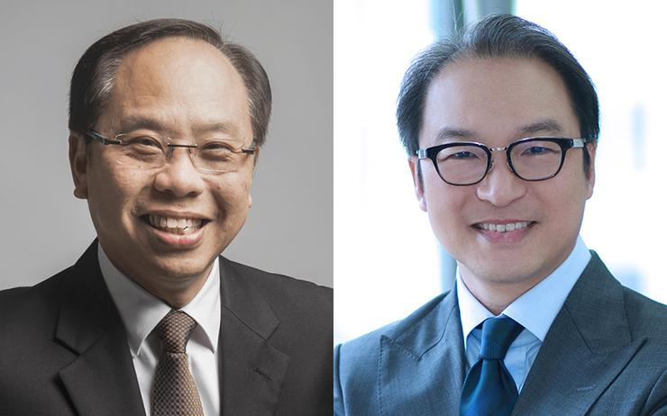Eric Goh (Channel Asia Hall of Fame) and Andy Sim (Dell Technologies)