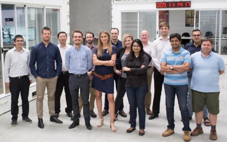 Fleet Space Technologies team