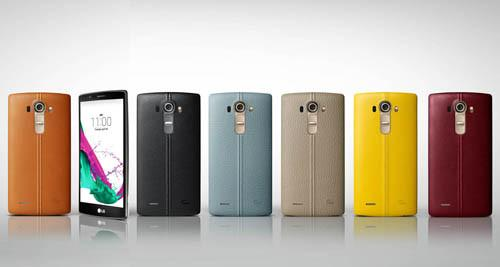 The LG G5's predecessor, the LG G4 came in a variety of colours