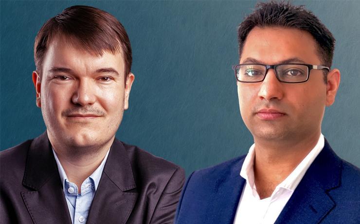 Mathieu Ploton (GDMS) and Nitin Ahuja (VMware)