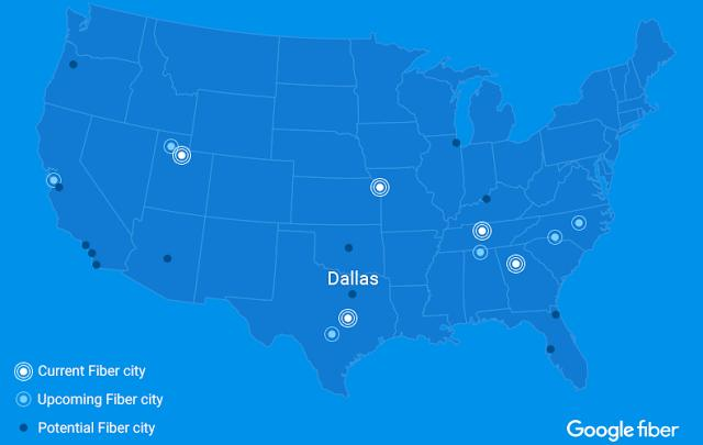 Google Fiber puts expansion plans on hold to review strategy