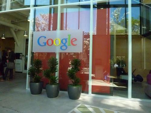 Inside Google's headquarters in Mountain View, California.