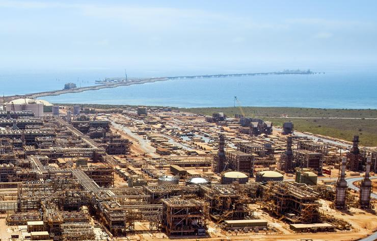 Chevron's Gorgon LNG plant on Barrow Island, Western Australia (Chevron)