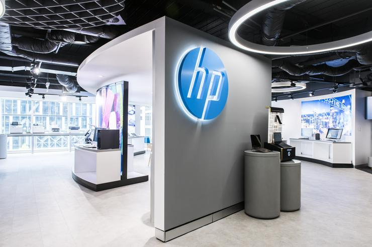 Newly opened HP Customer Welcome Centre in Sydney
