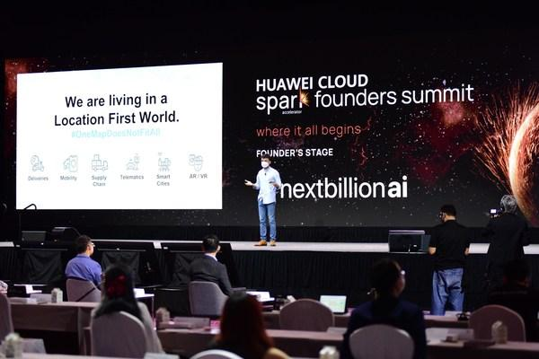 The Huawei Cloud Spark Founders Summit in Singapore.