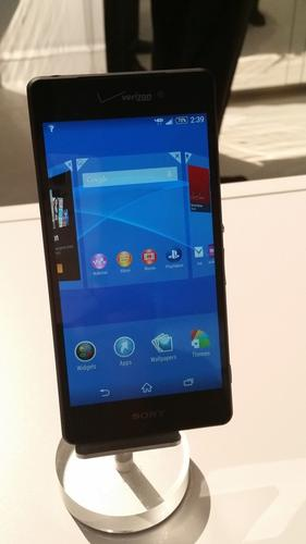 Sony and Verizon's Xperia Z3V smartphone