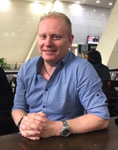 Microsoft Australia's IoT lead, Lee Hickin