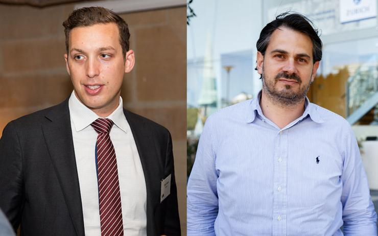 Dane Meah (InfoTrust) and Chris Hagios (Airloom)