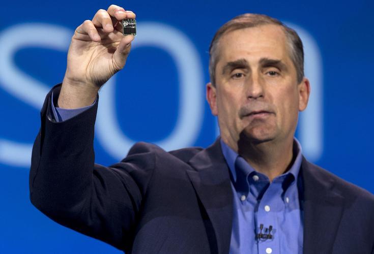 Intel chief executive, Brian Krzanich.