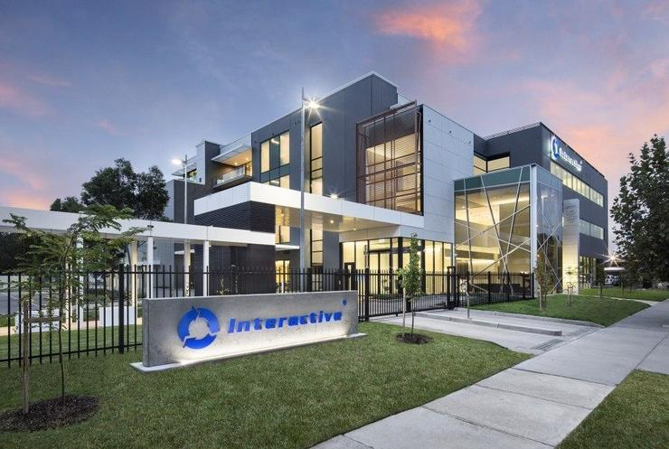 Interactive headquarters in Melbourne