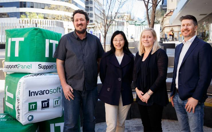 Team Invarosoft - Dean Turnbull; Vivian Zhu; Jessica Ross and Jamie Warner