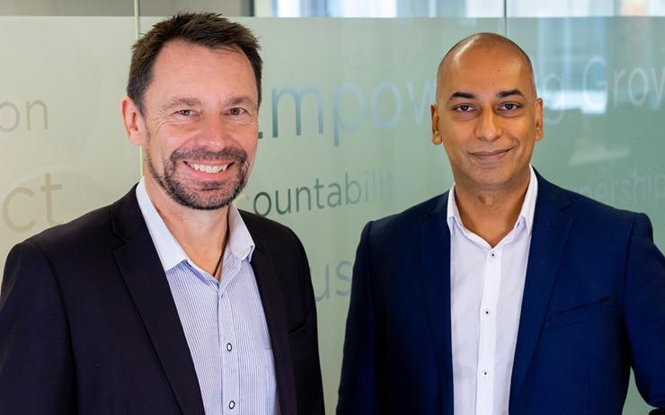 Stephen Canning and Arthur Fernandez (JCurve Solutions)