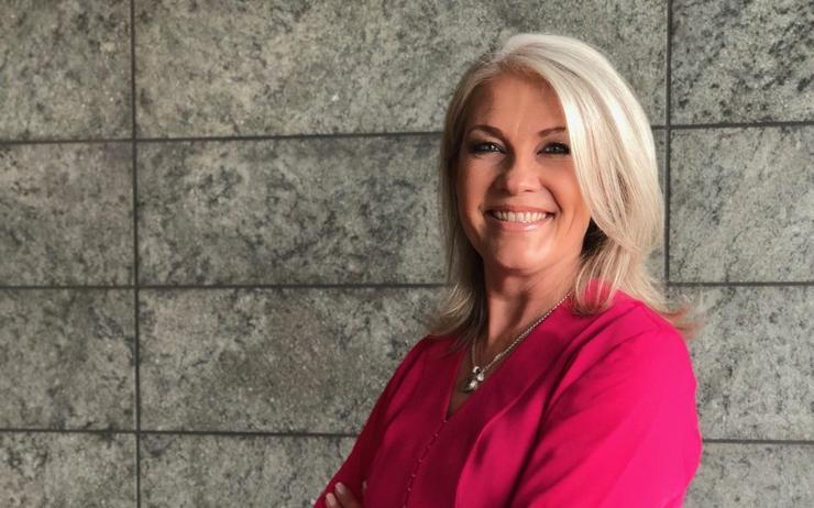 VMware vice president for worldwide channels, Jenni Flinders
