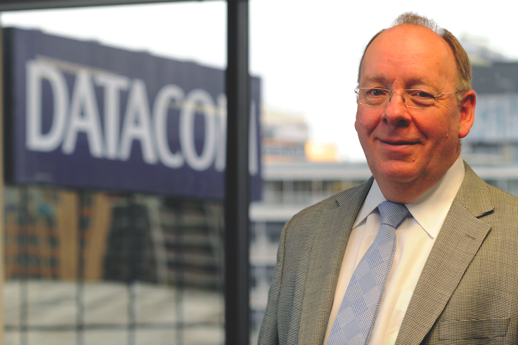 Jonathan Ladd, CEO of Datacom Group, which is upgrading its data centres to the tune of $45 million.