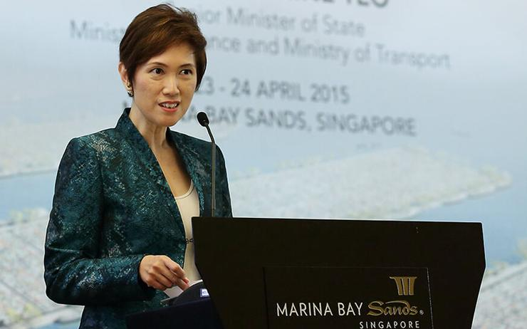 Josephine Teo (Minister for Communications and Information - Singapore)