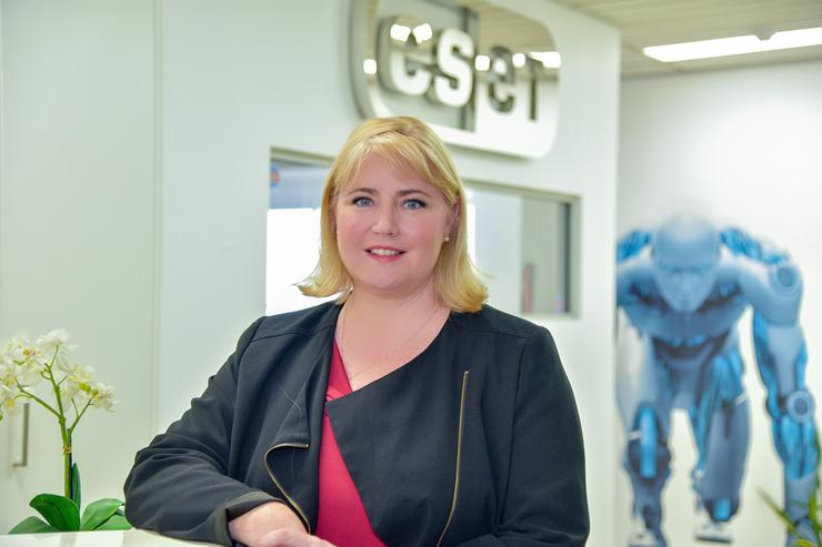 ESET Australia country manager, Kelly Johnson