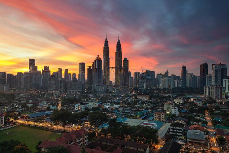 Malaysian capital, Kuala Lumpur