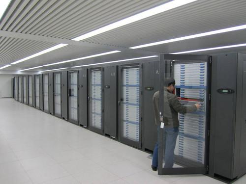 The Tianhe-1A at the National Supercomputer Center, Tianjin, China.