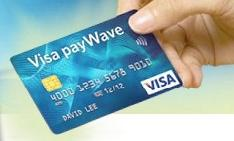 Visa credit cards are everywhere but mobile phone commerce is yet to become widespread