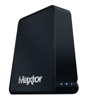 The Maxtor Central Axis 1TB networked storage system