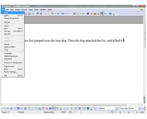 OpenOffice 3.0: The leading contender. This new version is the most serious threat to Microsoft Office's dominance.