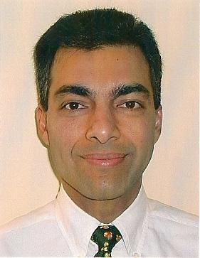 Vikram Sharma, co-creator of the QKD system.