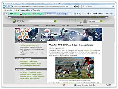 Internet Explorer 8 features enhanced tabbed browsing