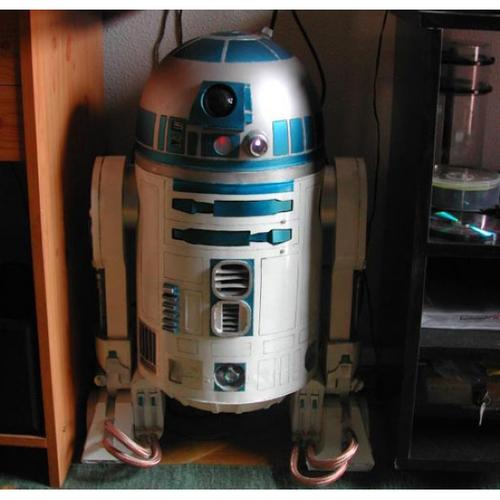 The diminutive R2-D2 received good advice from C-3PO: Always allow your boss or most important customer to beat you at golf