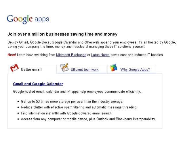 Google Apps now served without the long-time beta moniker